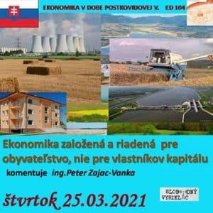 Ekonomická demokracia 104 (repríza)