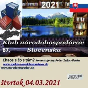 Klub národohospodárov Slovenska 87 (repríza)