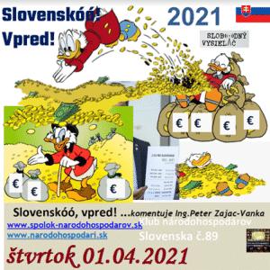 Klub národohospodárov Slovenska 89
