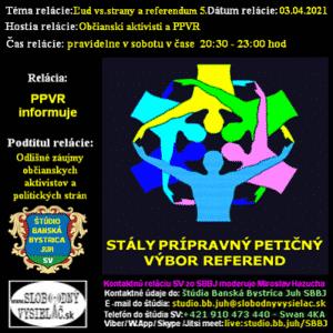 Prípravný petičný výbor referend 19 (repríza)