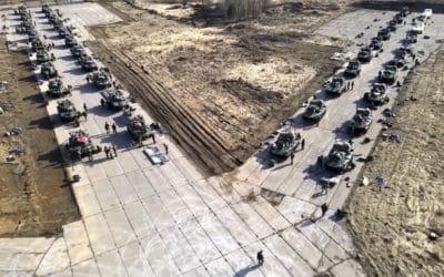 Rusko sťahuje svoje jednotky z oblastí pri hraniciach s Ukrajinou.