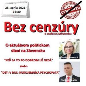 Bez cenzúry 08/2021 (repríza)