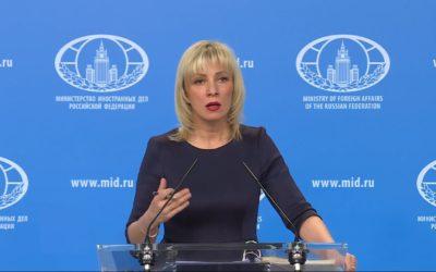Vyhoštění diplomatů z Česka je nepřátelský akt, tvrdí Rusko.