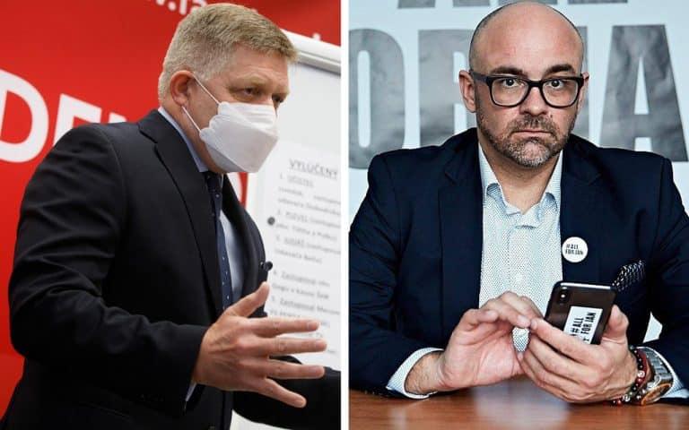 """Fico píše Aktualitám list: """"Šliapete po Kuciakovom hrobe a ponúkate násilie ako formu politickej súťaže."""" 1"""
