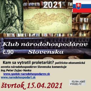 Klub národohospodárov Slovenska 90 (repríza)