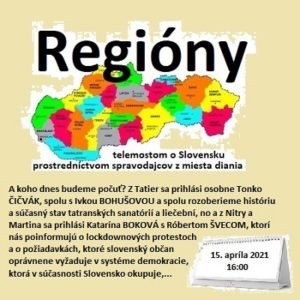 Regióny 08/2021 (repríza)