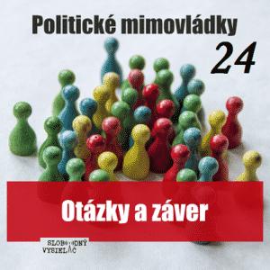 Politické mimovládky 24 (repríza)