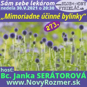 Sám sebe lekárom 273 (Mimoriadne účinné bylinky) repríza