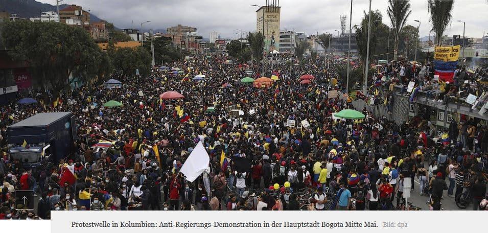 Mnohatýdenní masové demonstrace, brutální postup policie, 49 mrtvých a všichni v klidu….. DOPLNĚNO!!!!! 1