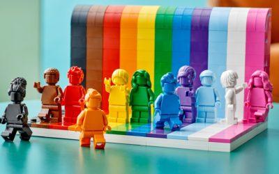 Lego predstavilo svoj prvý LGBT set. Cieli v ňom aj na trans a etnické menšiny.