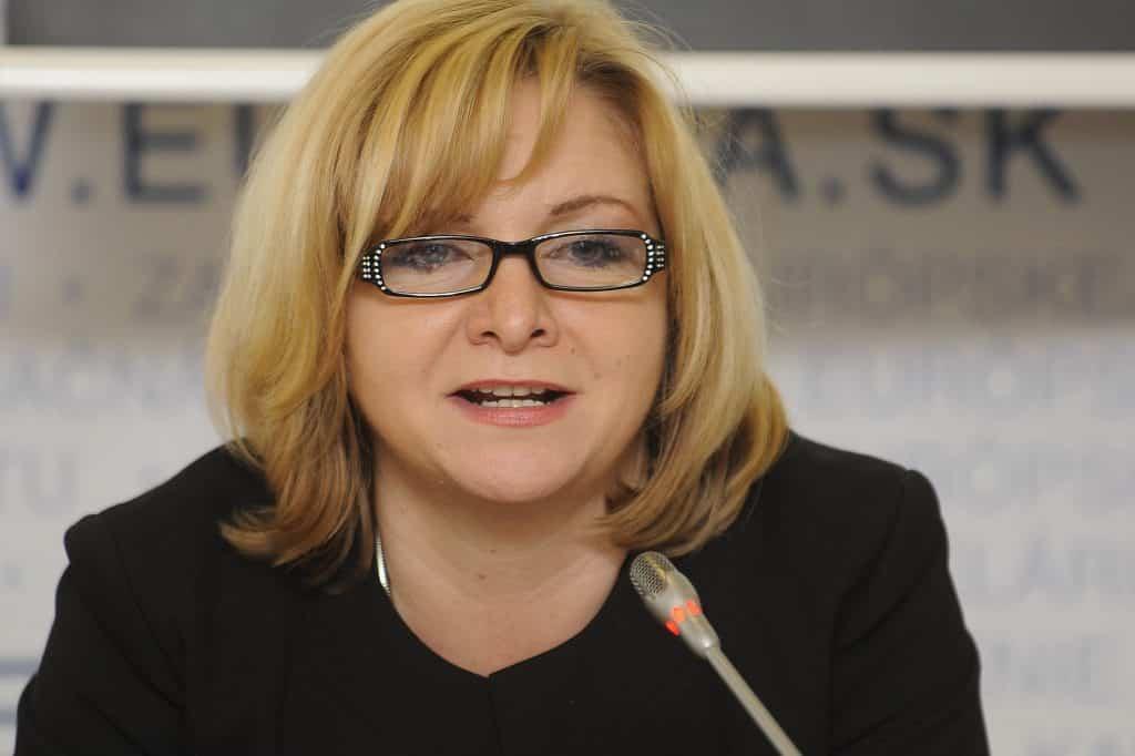 Liberálka Oľga Pietruchová už pôsobí na ministerstve u Kolíkovej. 1