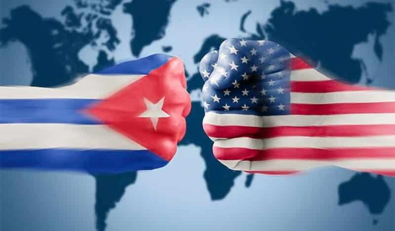 USA varovali Kubu pred represiou voči protestujúcim. 1
