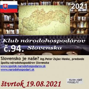 Klub národohospodárov Slovenska 94 (repríza)