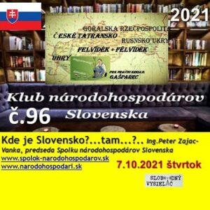 Klub národohospodárov Slovenska 96