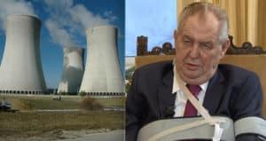 Zeman podpísal zákon vylučujúci Rusko a Čínu z výstavby elektrárne. 8