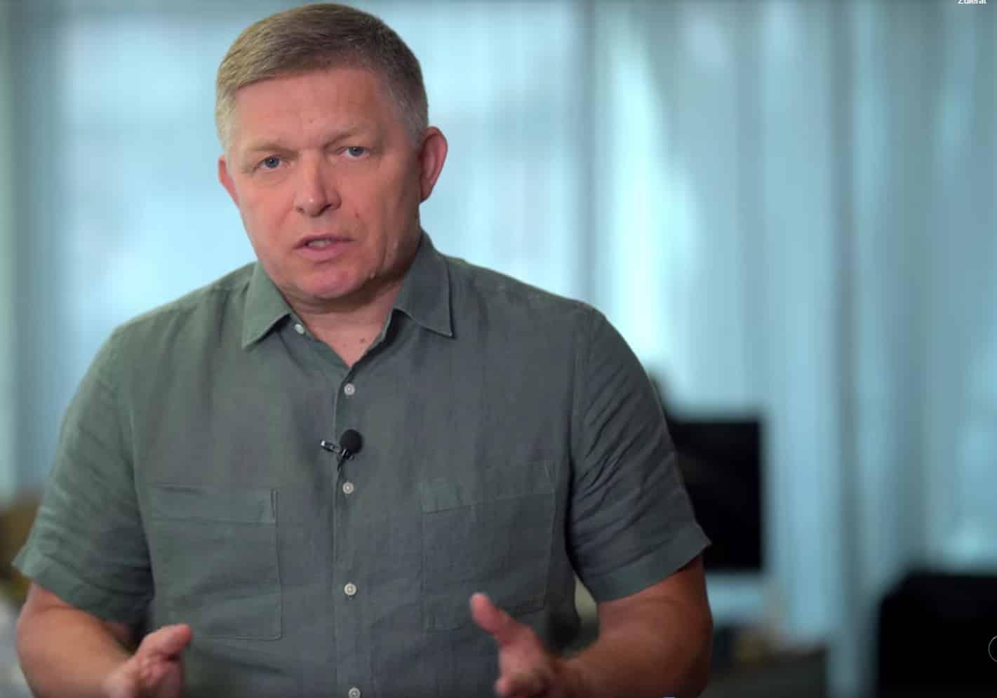 R. Fico bude informovať na tlačovej besede české média, nakoľko slovenské kryjú koaličné zločiny. 1
