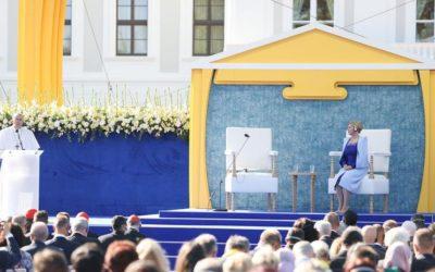 Pápež v Bratislave: Dejiny Slovenska pozývajú, aby bolo posolstvom pokoja v srdci Európy.