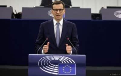 Morawiecki: Nesmieme mlčať, keď na našu krajinu útočia.