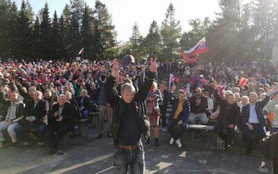 Ficovi za protest v Rimavskej Sobote hrozí pokuta 20-tisíc eur.